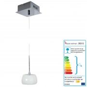 Pendelleuchte HW169, Deckenleuchte Hängeleuchte Deckenlampe, Glasschirm EEK C ~ Variantenangebot