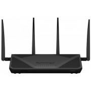 Router Wireless Synology RT2600ac, Gigabit, Dual Band, 2600 Mbps, 4 Antene Externe (Negru)