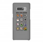 Nintendo Funda móvil Nintendo Know Your Enemies para iPhone y Android - Samsung Note 8 - Carcasa rígida - Brillante