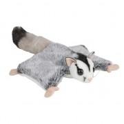 Nature Plush Planet Knuffel vliegende eekhoorns grijs 34 cm knuffels kopen