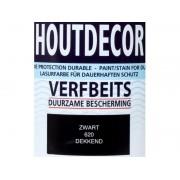 Hermadix Houtdecor verfbeits Zwart dekkend