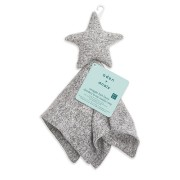 Jucarie de cocolosit stea-HEATHER GREY