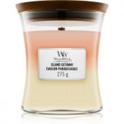 Woodwick Trilogy Island Getaway lumânare parfumată cu fitil din lemn 275 g