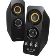 Boxe 2.0 wireless Creative T30, Bluetooth, NFC, Negru