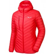 Salewa Ortles Light Down - giacca in piuma con cappuccio sci alpinismo - donna - Light Red