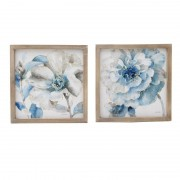 Borcan Ceramica Golden/White 13,5x13,5x23,5