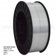 Huzalelektróda AlSi5 1.0mm/7kg (300mm)