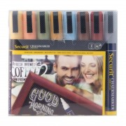 Securit 6mm Liquid Chalk Pens Assorted Earth Colours (Pack of 8)