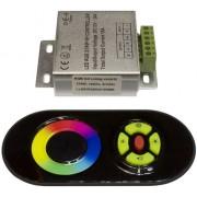 RGB led szalag vezérlő, 216W, rádiós, érintős. Life Light Led