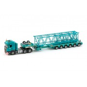 model Scania R-Streamline 6x4 plus Nooteboom MCO-PX 6 axle Kobelco mo