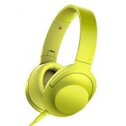 Sony Cuffie con microfono Sony Mdr-100Aap Cavo 1.2Mt Jack 3.5Mm Giallo