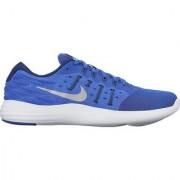 NIKE LUNARSTELOS (BLUE) Sports Shoes + 3 Pair Of PUMA Socks FREE