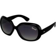 Imperial Club Oval Sunglasses(Black)
