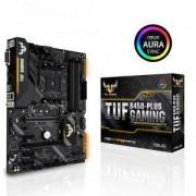 Дънна платка ASUS TUF B450-PLUS GAMING socket AM4, 4xDDR4, Aura Sync, ASUS-MB-TUF-B450-PLUS