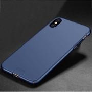 Apple MOFI voor iPhone X PC Ultra-thin volledige back cover beschermhoes (blauw)