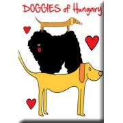 Magyar kutyafajták fém hűtőmágnes
