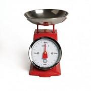 Dille&Kamille Balance de cuisine, petit format, rouge, portée max. 1 kg