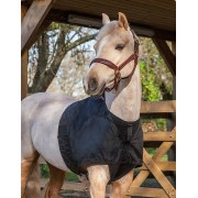 LeMieux Anti-Rub Bib - black - Size: 2X-Large