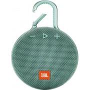 Jblclip3teal Clip 3 - Cassa Bluetooth Altoparlante Wireless Speaker Portatile Impermeabile Ipx7 Potenza 3.3 Watt Usb Colore Turchese - Jblclip3teal