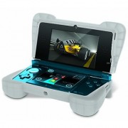 dreamGEAR Nintendo 3DS Comfort Grip - Clear White