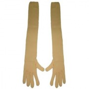 Tahiro Beige Cotton Full Length Sun Reys Protecting Gloves - Pack Of 1