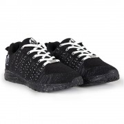 Gorilla Wear Brooklyn Knitted Sneakers (unisex) - Black/White - 39