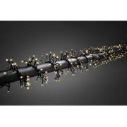 Konstsmide LED Ljusslinga kluster Utomhus Konstsmide 3859-100 230 V Varmvit Belyst längd: 2.4 m