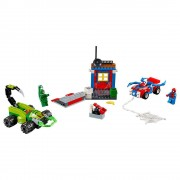 Lego spider-man vs. escorpión: batalla callejera lego juniors 10754