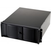 Fantec TCG-4800X07-1 Rack Zwart computerbehuizing