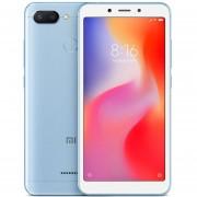 Original Smartphone Xiaomi Redmi 6 Helio P22 3GB RAM+32GB ROM-Azul