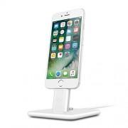 Twelve South TwelveSouth HiRise Deluxe 2 estaciones de acoplamiento para móviles (Apple Lightning, Tablet/Smartphone, Apple, iPad mini 4, iPad Pro 9.7'', iPhone 5 / 5s / 5c, iPhone SE, iPhone 6 / 6s, iPhone 6 Plus / 6s Plus,, Color blanco, USB)