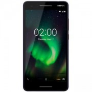 Смартфон NOKIA 2.1 DUAL NANO SIM 5.5 HD Cover Glass with anti-FP coating Integrated 4000 mAh battery СИН/ОРАНЖЕВ