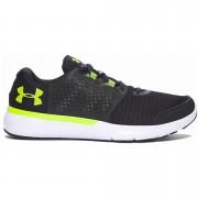 Under Armour Men's Micro G Fuel Running Shoes - Black/Velocity - US 12/UK 11 - Black/Velocity