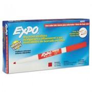 Low Odor Dry Erase Marker, Fine Point, Red, Dozen