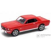 Masinuta Welly Ford Mustang (1:60-64), rosu