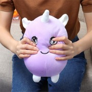 22cm 8.6Inches Huge Squishimal Big Size Purple Stuffed Squishy Toy Slow Rising Collection Home Decor