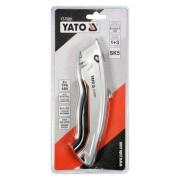 Yato YT-75201 Törhető pengés kés 3 db trapéz pengével