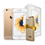 CELULAR IPHONE 6S 64GB DORADO EN CAJA + Power Case