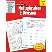 Scholastic Success with Multiplication & Division, Grade 3, Paperback