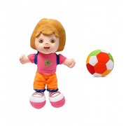 JRP Mart Diva Doll Bag Soft Toy and Little Ball