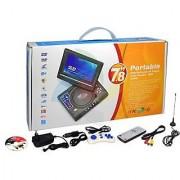 Portable EVD/DVD player 7.8 inch
