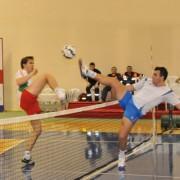 La rete fileu tenis cu piciorul 6.5x1 m