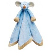 Teddykompaniet Diinglisar Snuttefilt Mus - Blå