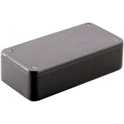 Carcasă euro, plastic ABS, negru, tip 1591GBK, 121 x 94 x 34 mm