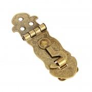 1 st Antieke Notebook Lock Metalen Gesp Pakket Geschenkdoos Scharnier Lock Fastener Scharnier Lock 45x28mm