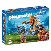 Playmobil 9344 Knights - Dwarf King with Guards