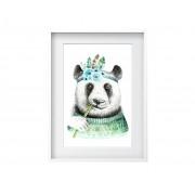 Oyo Kids Obraz Bamboo Panda 24x29 cm