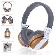 Auriculares Bluetooth Inalámbrica Audífonos Over Ear - Dorado