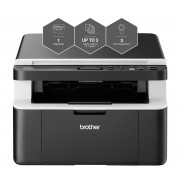 Brother DCP-1612W A4 Mono Laser Wireless Printer including 5 Toners