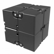 AJ International Infinity Cube Pressure Reduction Toy Infinity - Black